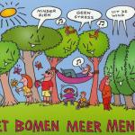 Met bomen meer mens!